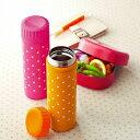 楽天携帯マグボトル ポルカドット Stainless Bottle 300ml Polka Dot (ステンレスボトル / 水筒 / スリムボトル/ ドット柄 /お弁当グッズ)【10P05Sep15】