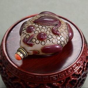 Qian 거북이 코 연기 항아리 집 오리 쉘 180929 코 연기 가슴 중국 예술 치노 와즐 인테리어 컬렉션 스 너버 담배 처짐 골동품 액세서리