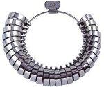 リングゲージ平打ち指輪ゲージ指輪サイズ測定激安MKS平打リングゲージ#40630