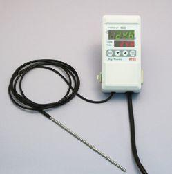 理科実験器具研究機器実験温度調節計壁掛け・卓上型設定温度範囲:-50~+550K熱電対センサーFHP501【RCP1209mara】