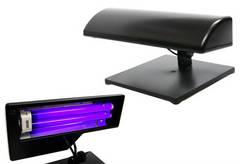 紫外線ライト UVライト ネイルアート ジェルネイル UV硬化樹脂 レジンブラックライト蛍光灯スタンド【2P03Dec16】