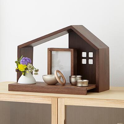 ユニクエスト小さなお仏壇『木の家』