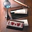 ちいさなてしごと クロスステッチ刺繍キット、ショップカードなどが入る便利なカードケース。好...