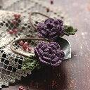 クロバーのちいさなてしごと シリーズ 毛糸でヘアーゴムが編めます。てしごとのきほん(かぎ針...