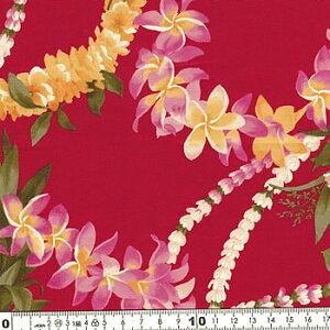 キャシー中島 生地 (キャシーマム)ハワイアン生地20077-30レイラニ02P09Jan16