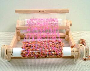 アヴリル 卓上織り機(手織り機)手織りのマフラーつくりなどに!送料無料 専用バッグ付き、『...