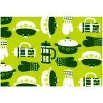 ウェストファーレン リビング生地Hot Kitchen(Green)