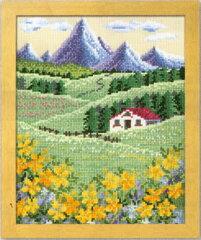 オリムパス刺繍キット (刺しゅう) クロスステッチオノエ・メグミデザインのフラワーガーデン500...