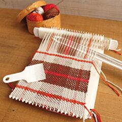 お子様や初心者にもできる「かんたん織り機」。マフラーや小物作りに!夏休みの工作に!母の日...