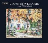 2020年 ラング社(LANG)USA カレンダー Country Welcome即納