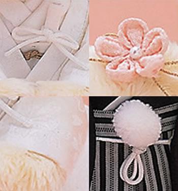 ウェディングベアキット・和装・白無垢【69-139】イメージ