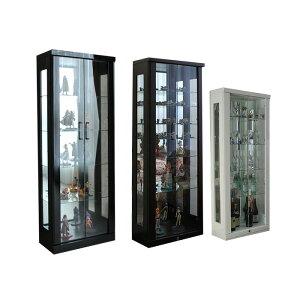 コレクション ブラウン ホワイト ワンピースフィギア キュリオケース ボックス フィギア ガラスケース ショーケース