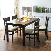 ダイニング テーブルセット テーブル シンプル