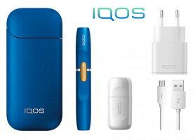 IQOS2.4plusアイコス本体キット限定ブルーBLUE加熱式タバコ電子タバコスターターキット激安欧州正規品新品未開封