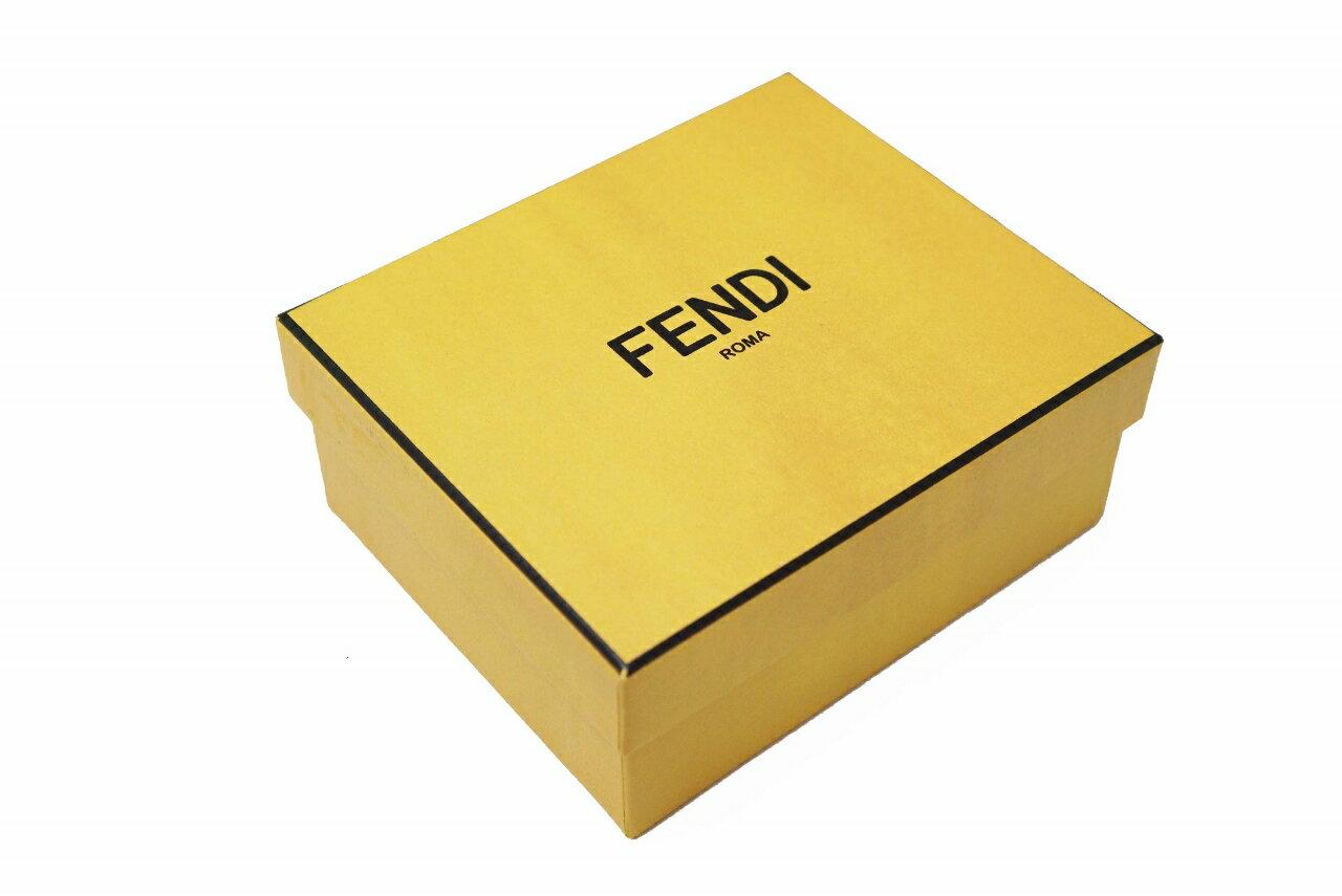 E125 FENDI フェンディ ジップアラウンド 長財布 カール・ラガーフェルド 2折 WALLET 7M0169-52P F057A 男 メンズ 新品 ブラック
