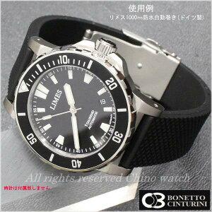 BCボネット・シンチュリーニラバーベルト18mm20mm22mm24mmBLACKDバックルモデルオリス/オリスBC3/ORIS/ダイバーズウォッチ送料無料腕時計時計