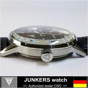 JUNKERSユンカースG386946-2QZGMTドイツ時計クォーツ腕時計時計