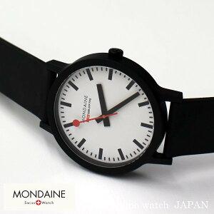 NEWMONDAINEessenceモンディーンエッセンス直径41mmWhiteMS1.41110.RBスイス鉄道時計腕時計時計