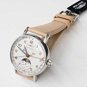 ドイツ製アイアンアニーIRONANNIEAMAZONAS直径36ミリ5977-1QZトリプルカレンダームーンフェイズクォーツドイツ時計腕時計送料無料