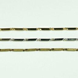 真鍮チェーン B-974 1m ゴールド ロジウム シルバー アンティーク 古美 メッキ 真鍮 金 鎖 ハンドメイド