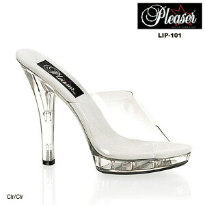 Pleaser/LIP-101-CLR-CLR