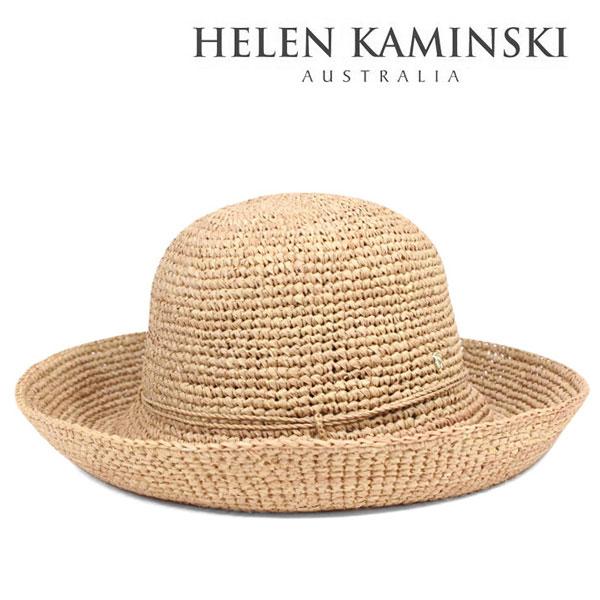 ヘレンカミンスキー 帽子 レディース 麦わら帽子 つば広 高級ラフィアのストローハット キャペリン HELEN KAMINSKI LOMBARDY:帽子屋カブロカムリエ