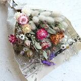 【flower gift】ドライフラワー ドライフラワーブーケ−花束ギフト-スワッグ詰め合わせ誕生日プレゼント記念日