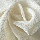 145cm巾【リネン100%生地】オフホワイト ガーゼ地 無地 1m単位/W-7651