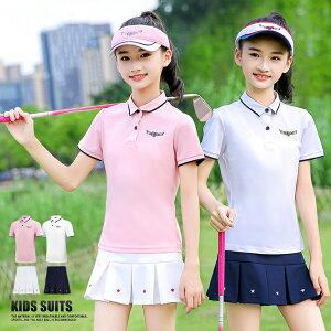 キッズ ゴルフウェア 女の子 キッズ用 スカート キッズウェア ガールズ スポーツ パンツ コーディネート ゴルフ 女子 スコアアップ スポーツ 肌に優しい