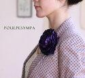 光沢ラナンキュラス【紫】個性的に花飾りしたい方へ