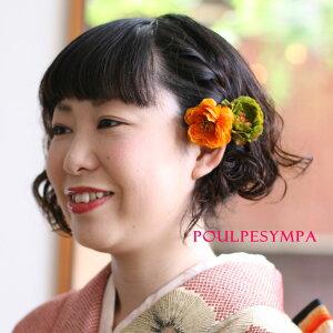 おとな色小花の髪飾り【7色】