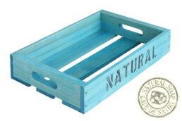 オリジナル木箱Sサイズブルー