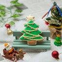 クリスマスのプチギフトに【クリスマスツリークッキー】アイシングクッキー クッキー