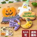 送料無料 ハロウィンのプレゼントに【送料無料ハロウィンクッキーset A】アイシングクッキー クッキー ハロウィン Halloween プレゼント ギフト 詰め合わせ 名入れ 文字入れ かわいい お菓子