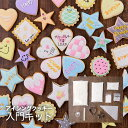 【アイシングクッキーキットA】 クッキー作りからおうちで始めるお菓子作り。 入門 体験 製菓 子供と 友達と スイーツ 自由研究 マニュアル付き 送料無料