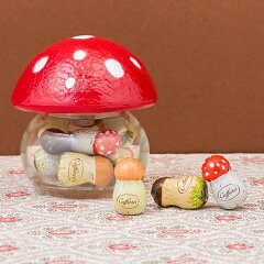 大人気!きのこの形をした入れ物がカワイイチョコレート!バレンタイン、プレゼント、ギフトに...