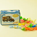 【Caffarel カファレル】 トローリー缶 キャンディ キャンディ、フルーツ、缶、イタリア、トリノ、カファレル、チョコレート、イタリア、老舗、プランドチョコ、ジャンドゥーヤ、イタリアのキャンディ、海外のキャンディ、おしゃれなキャンディ