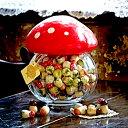 【カファレルCAFFAREL】【高級 チョコレート】 きのこポット 大 赤 チョコレート、イタリア、トリノ、カファレル、イタリア、老舗、プランドチョコ、ジャンドゥーヤ、きのこ、ラッキーアイテム、ハッピー、パーティーグッズ、景品、記念品
