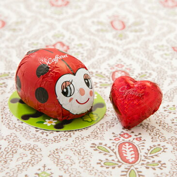 【Caffarel カファレル】 てんとう虫とミニハートセット チョコレート