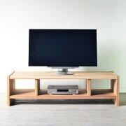 無添加杉テレビボード126/ダブルテレビ台テレビボードローボード日本製木製収納ラックナチュラルリビング杉北欧国産大川家具無垢