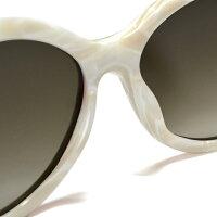 EMPORIOARMANI/エンポリオアルマーニサングラス9722/S0SVD(ホワイト/ブラウン)[White/Brown][sunglasses/メガネ/眼鏡/眼鏡拭き/眼鏡クロス][ケースセット][メンズ/レディース][アルマーニブランド]ブランド