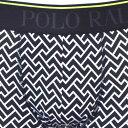 POLO RALPH LAUREN ポロ ラルフローレン メンズ 幾何学ボクサーパンツ ホワイト トランクス S M L XL おしゃれ ブランド 大きいサイズ 【あす楽】 [l999hr] 2