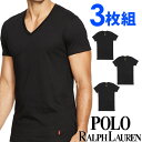 POLO RALPH LAUREN ポロ ラルフローレン tシャツ メンズ Vネック 3枚セット ラルフローレンTシャツ ラルフtシャツ[RCVNP3 /LCVN]