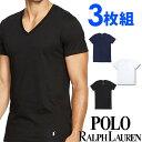 POLO RALPH LAUREN ポロ ラルフローレン tシャツ メンズ Vネック 3枚セット ラルフローレンTシャツ[RCVNP3 /LCVN]