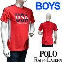 POLO RALPH LAUREN boys ポロ ラルフローレン tシャツ ビッグポ二? 半袖 クルーネック Tシャツ ボーイズ[レディース メンズ ユニセックス 男女兼用][ポロ POLO ][346540571001]ブランド ラルフローレン Tシャツ