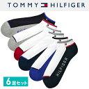 TOMMY HILFIGER トミーヒルフィガー メンズ 靴下 スニー...