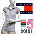 TOMMY HILFIGER トミーヒルフィガー レディース トミーフラッグポロシャツ 5色展開[グレー 赤 黒 青 ブルー 白 ホワイト][XS/S/M/L/XL][半袖 ショートスリーブ ティーシャツ][ヨーロッパ仕様][1653520590]大きいサイズ ブランド[5,400円以上で送料無料]