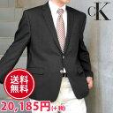 Calvin Klein カルバンクライン メンズ 2ボタン ブレザー ジャケット(2色展開)(Men's Blazer)[ネイビーブラック][紺ブレザー 紺ブレ フォーマルウェア 黒ブレザー ck]大きいサイズ[5,500円以上で送料無料]ブランド 春 秋 冬