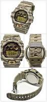 CASIO[カシオ]GSHOCKGショック腕時計カモフラージュシリーズ(タイガーストライプカモ)カーキ海外モデルクオーツ[GD-X6900TC-5][G-SHOCKメンズ腕時計レディース腕時計ユニセックス][1年保証][ケース付][送料無料][casioカシオ時計]ブランド