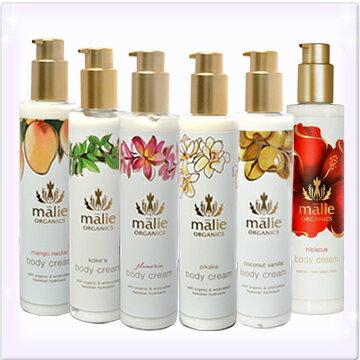 malie organics[マリエオーガニクス]ボディクリーム 222ml [プルメリア ピ…